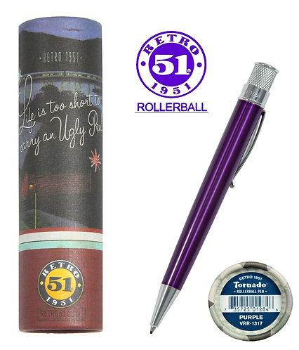 Retro 1951 Classic Purple Rollerball