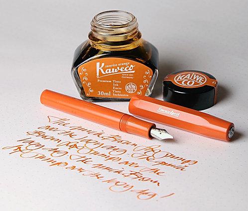 Kaweco Skyline Sport Fountain Fox Red/Orange