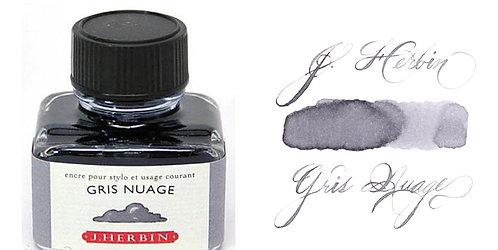 J. Herbin Bottle Ink Gris Nuage