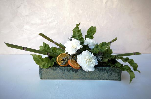 Centre de table moderne de BouquetCentre de table moderne De Fleurs en CouleursFleurs en Couleurs