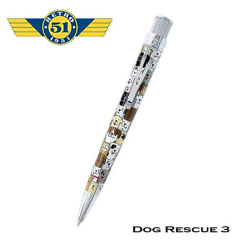 Retro 1951 Rescue Dog Rollerball