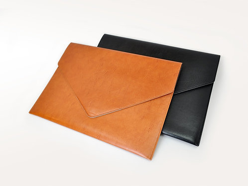 Italian Leather Document Envelope A4