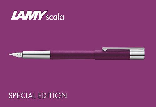Lamy Scala Dark Violet Fountain Special Edition