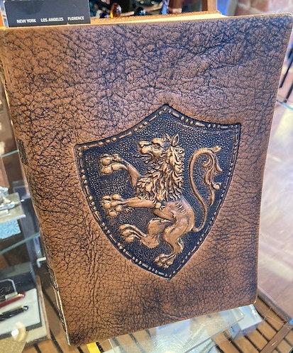 Venetian Lion Italian Leather Journal