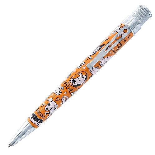 Retro 51 Dog Rescue Rollerball Pen