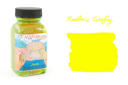 Noodler's Firefly Yellow Ink