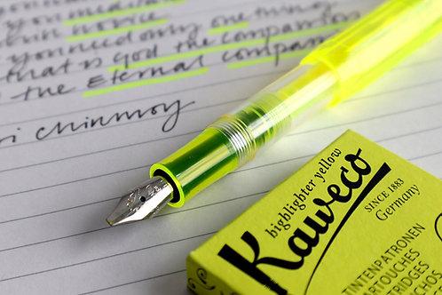 Kaweco Glow Sport Marker Yellow