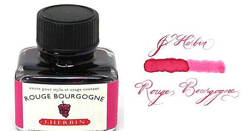 J. Herbin Bottle Ink Rouge Bourgogne