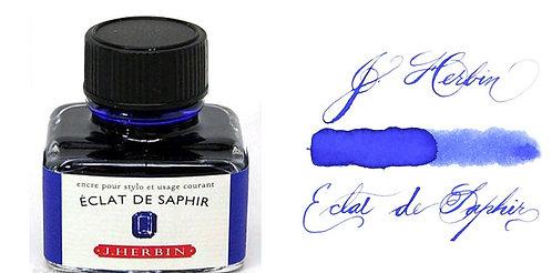 J. Herbin Bottle Ink Eclat De Saphir