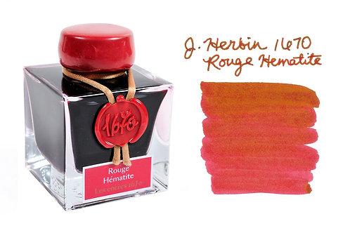 J. Herbin Anniversary Ink Rouge Hematite