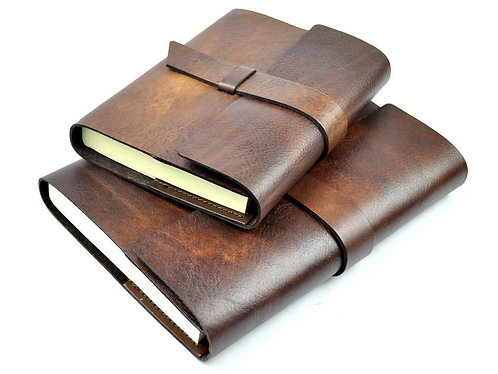 Italian Leather Refillable Journal