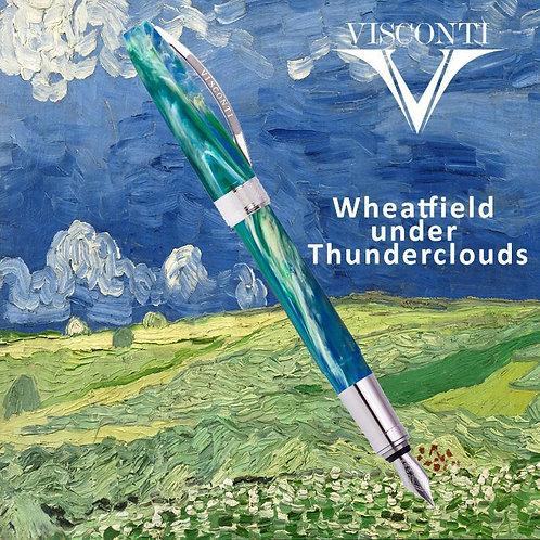 Visconti Wheatfield Under Thunder Clouds Van Gogh