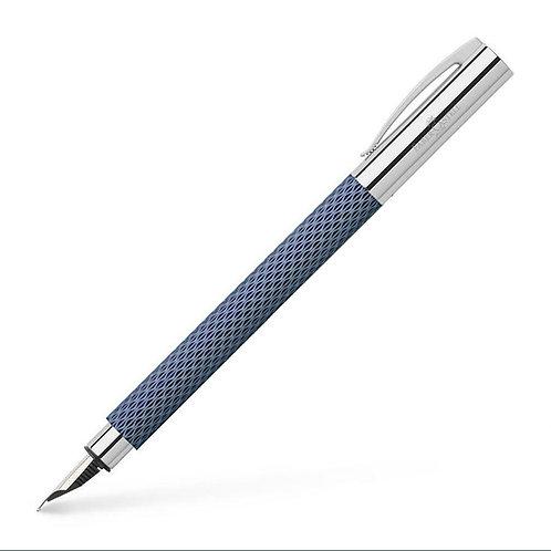 Faber Castell Ambition Opart Deepwater Fountain Pen