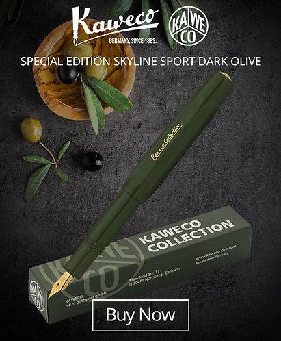Kaweco Collectors Edition Dark Olive Fountain Pen