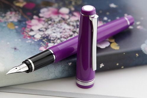 Pilot Falcon Purple Fountain Pen Flex (Soft Fine)