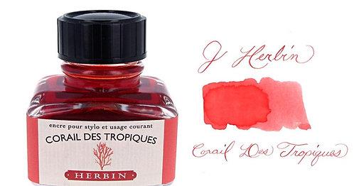 J. Herbin Bottle Ink Corail Des Tropiques