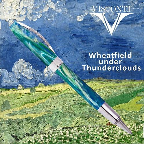 Visconti Wheatfield Under Thunder Clouds Ballpoint Van Gogh Rollerball