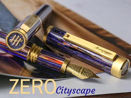 Montegrappa Zero Cityscape Fountain Pen