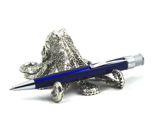 Pewter Octopus Pen Stand