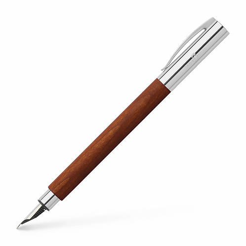 Faber Castell Pearwood Brown Fountain