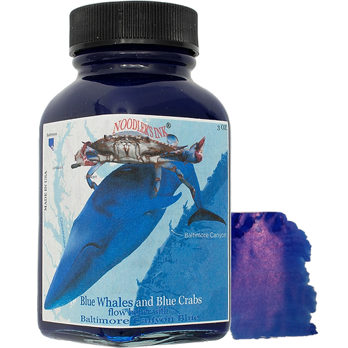 Noodlers Baltimore Canyon Blue