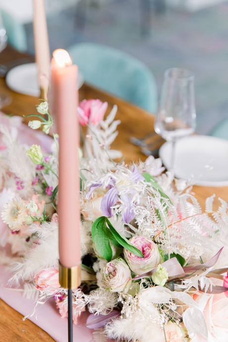 Décoration florale de table De Fleurs en Couleurs