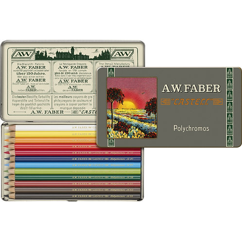 Faber Castell 111th Anniversary Polychromos Artist's Colored Pencils