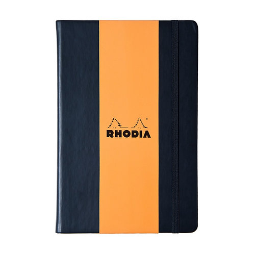 Rhodia Desk Webnotebook Black A5 Plain