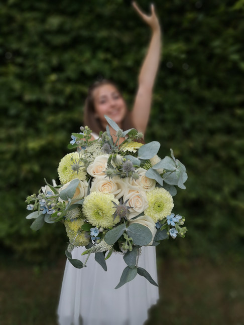 Bouquet de mariée  De Fleurs en Couleurs