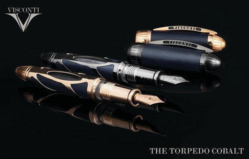 Visconti Torpedo Cobalt Limited Edition Fountain Pen