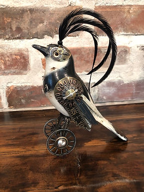 Artisan Bird Sculptures