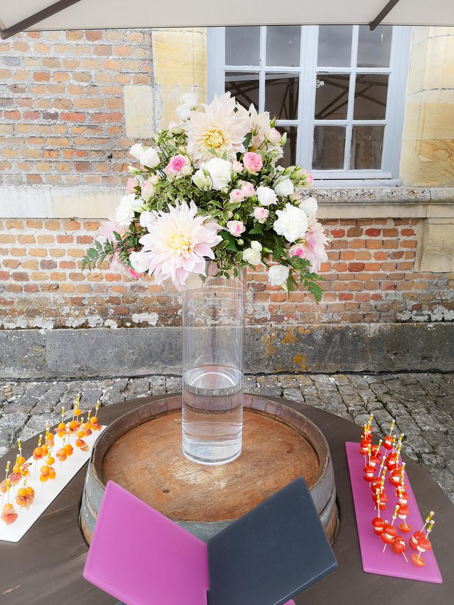 Bouquet de buffet De Fleurs en Couleurs