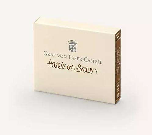 Graf Von Faber Castell Hazlenut Brown Ink