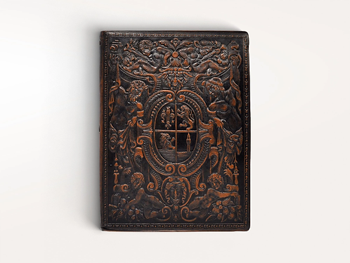 Jumbo Nettuno Italian Leather Journal