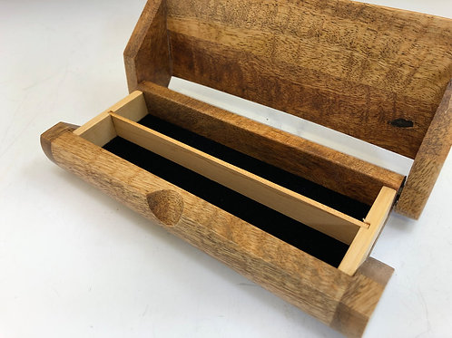 Mango Wood 2-Pen Box
