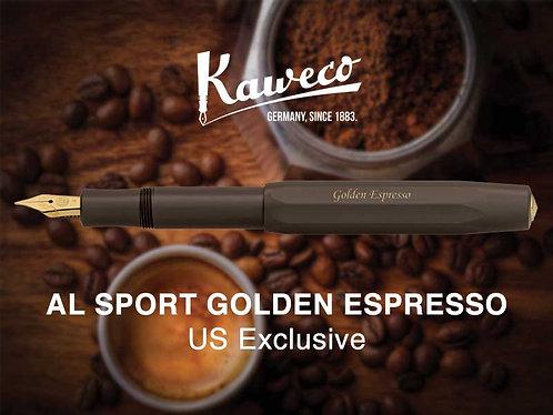 Kaweco Golden Expresso AL-Sport Fountain
