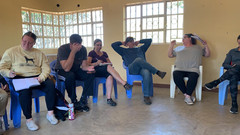 Class time for team _ Prescott College's Dopoi Center