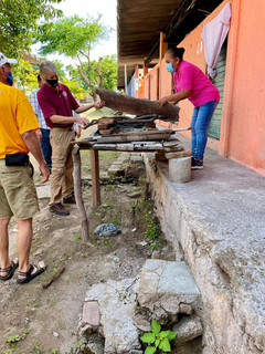 Where refugees cook their tortillas