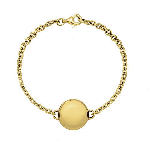 Bracelet chaîne SMARTIE 16 or