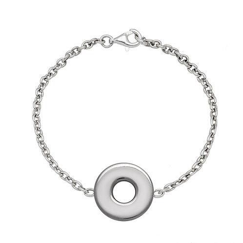Bracelet chaîne PASTILLE 20 argent
