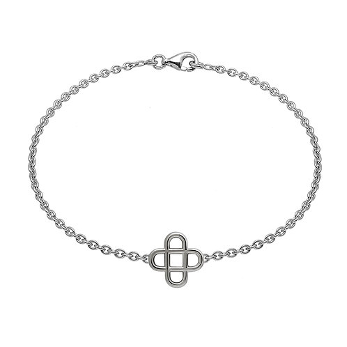 Bracelet chaine cross 16