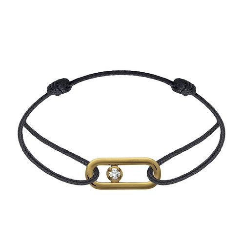 Bracelet CLASSIQUE A PM diamant or