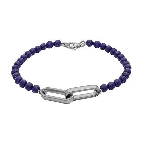 HIPPODROME YOU & ME Lapis Lazuli argent GM