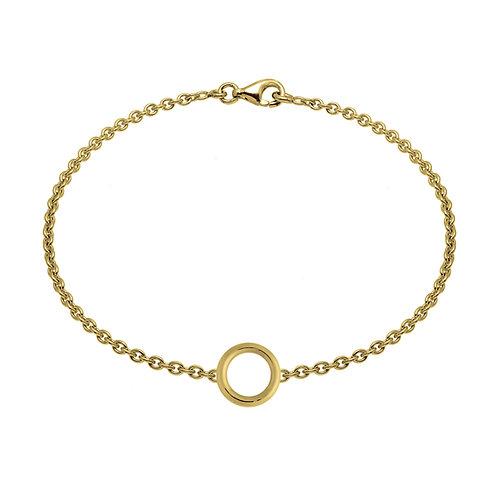 Bracelet chaîne ROND 10 or