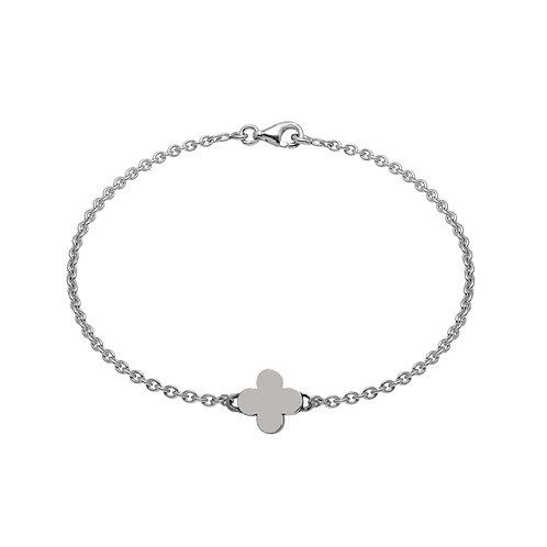 Bracelet chaîne TREFLE 10 argent