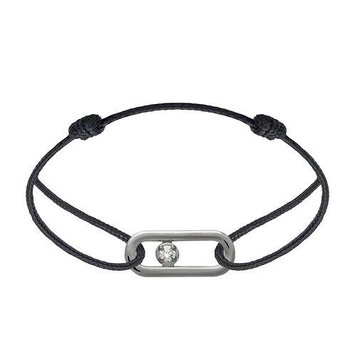Bracelet CLASSIQUE A PM diamant argent