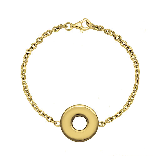 Bracelet chaîne PASTILLE 20 or