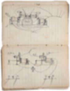 Thomas Edison Telegraph Ciruit Drawings