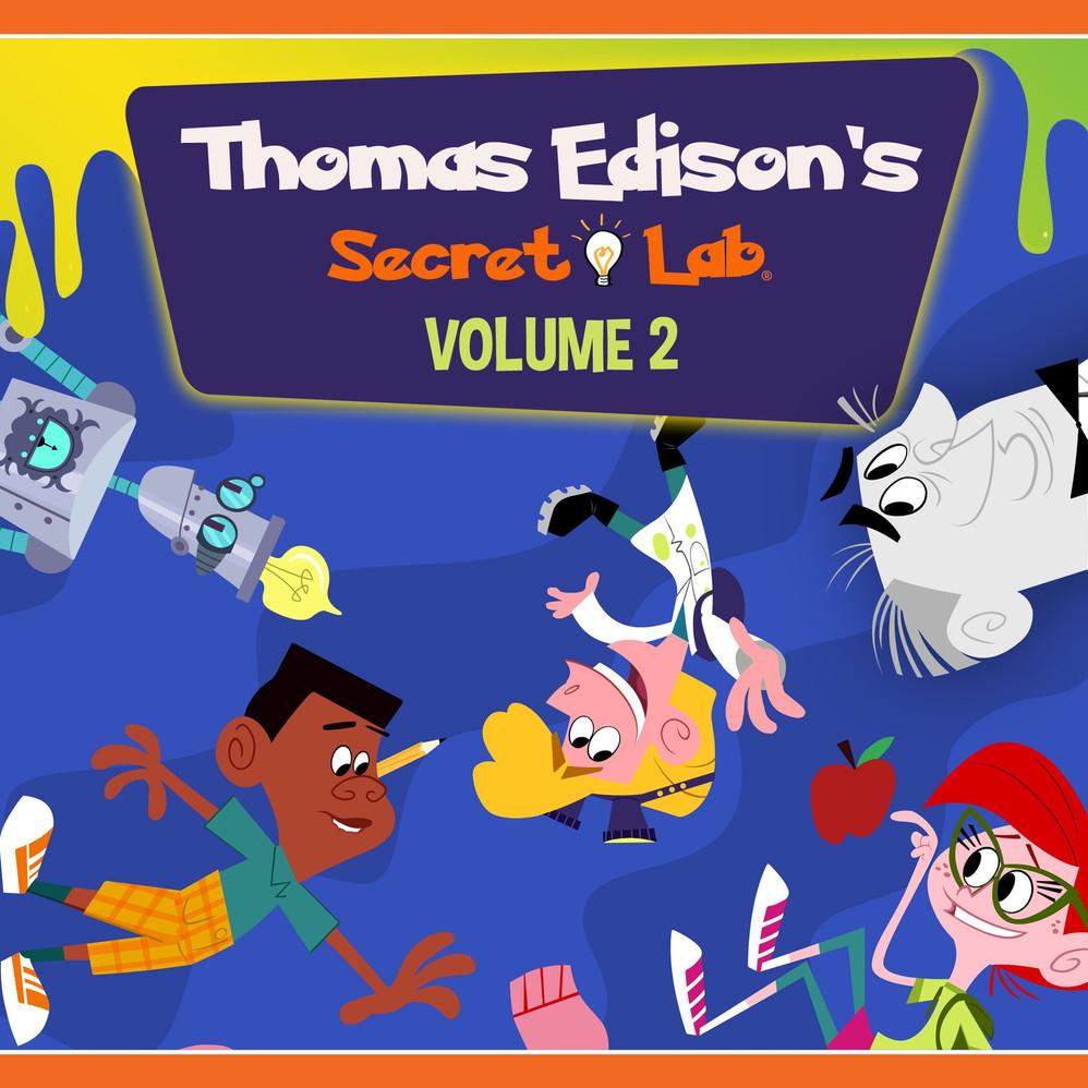 Thomas Edison's Secret Lab by Genius Brands International