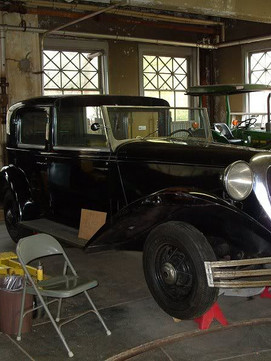 Charles Edison's car-a rare 1936 Brewster; built on a 1934 Ford _Roadster_ chassis and fea